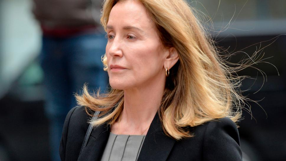 The 56-year-old actress will be sentenced Friday for her role in the college admissions cheating scandal. Prosecutors have recommended a month in federal prison.