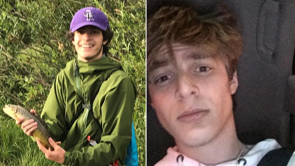(Left) Luka enjoyed outdoor activities like fishing before he began vaping. (Right) Luka snaps a selfie on Dec. 17, 2017, months after he began vaping.