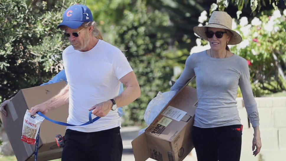 Felicity Huffman was spotted out and about this past weekend after being sentenced to 14 days behind bars for her role in the college admissions scandal.