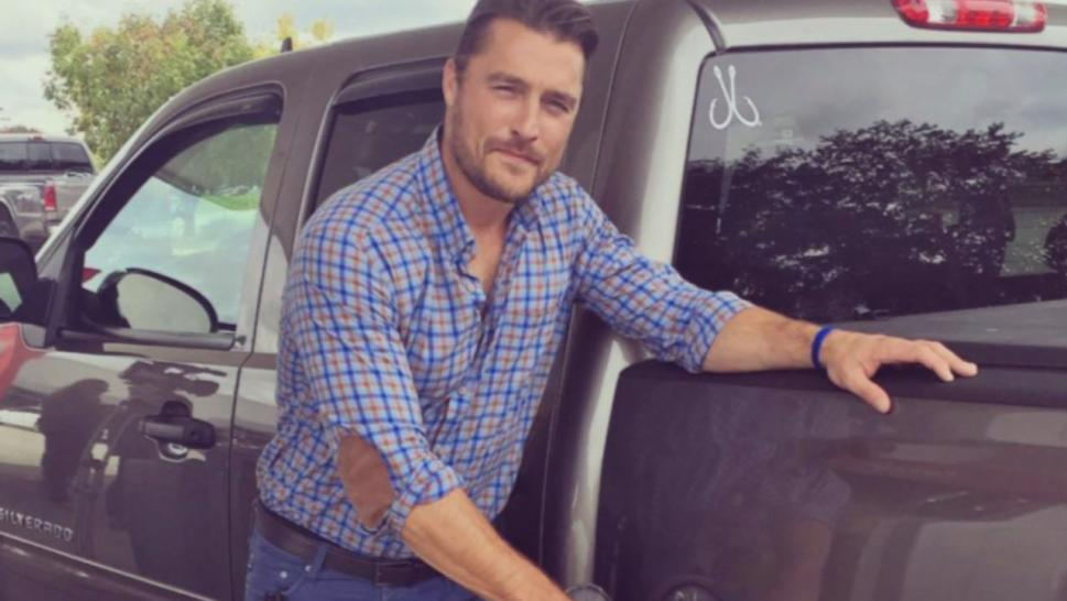Chris Soules' truck rear-ended a tractor driven by his neighbor, 66-year-old Kenny Mosher.