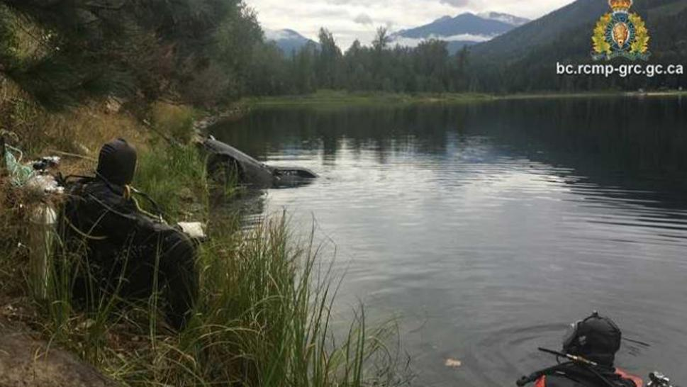 Vehicle at bottom of lake solves missing person's case.