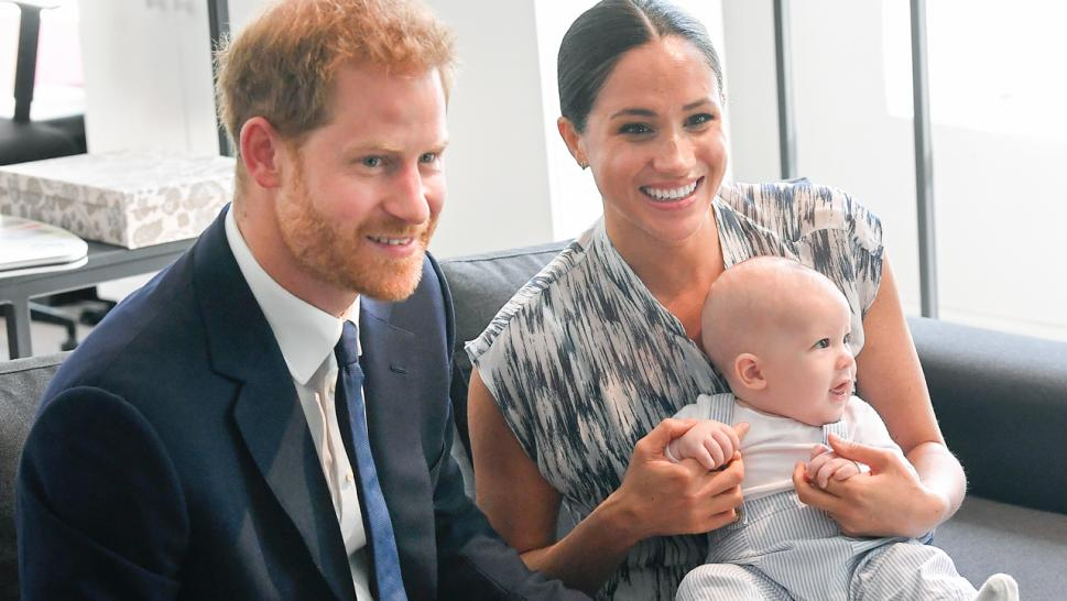 Archie was a dead ringer for dad Prince Harry when he was younger, basking in the attention.
