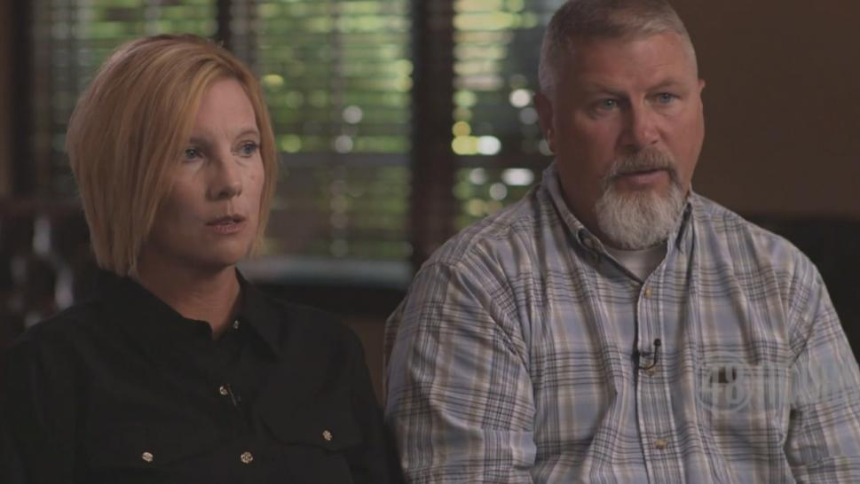 "Kim and Scott Richardson speak to ""48 Hours."""