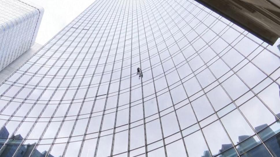 'French Spider-Man' Scales 660-Foot Building in Germany