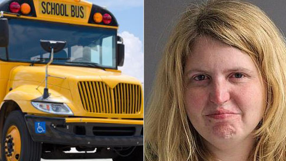 Catherine Maccarone was arrested after a student called 911 to say she was drunk while driving school bus.