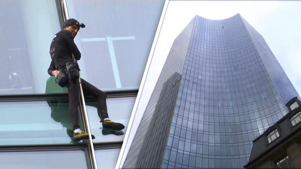 This Man Climbs Skyscrapers With No Equipment, or Permission