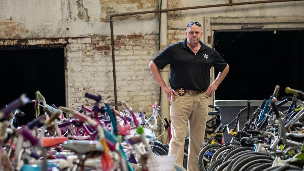 "Bob ""the Bike Guy"" Charland is spending his last days giving kids their first set of wheels."
