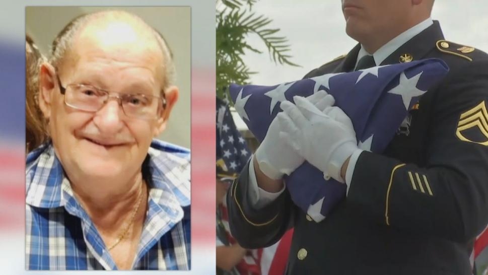 Funeral for a veteran
