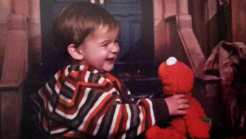 Reunited with Elmo