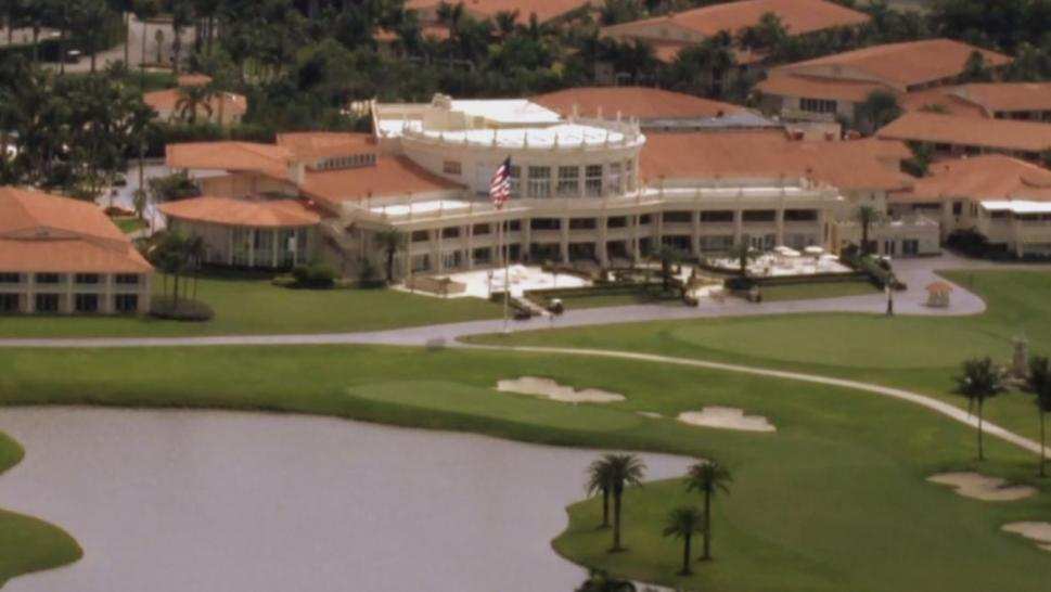 "The Doral has 643 rooms in a cluster of bungalows and a world class golf course called ""The Blue Monster."""