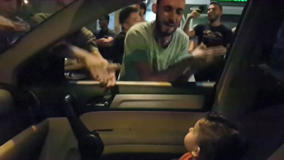 Lebanese Protesters Serenade Toddler With 'Baby Shark'
