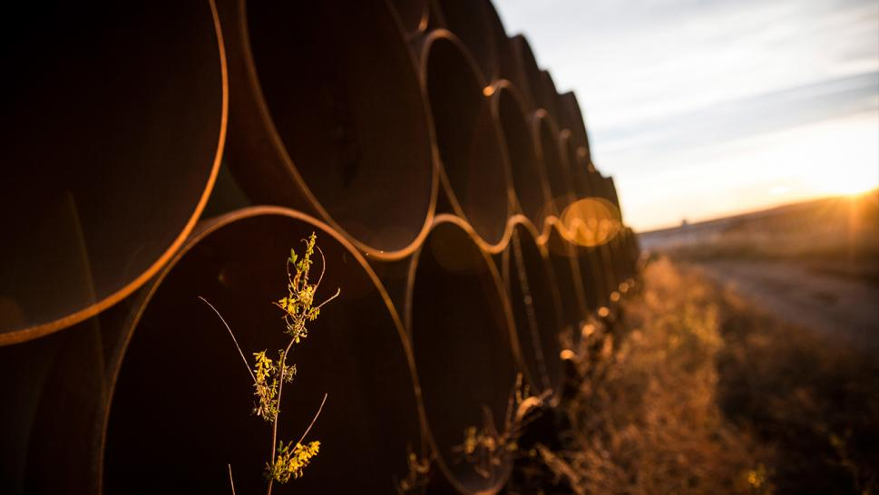 More than 9,000 barrels of oil are believed to have spilled from a leak in the Keystone Pipeline in northeastern North Dakota, the second significant spill in as many years in the pipeline that runs from Canada and through seven U.S. states.