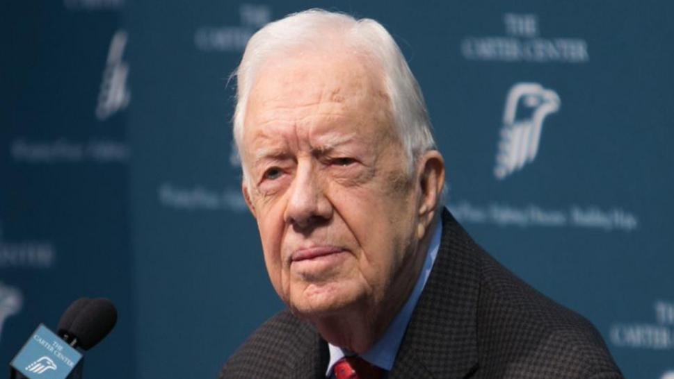 Jimmy Carter is hospitalized.