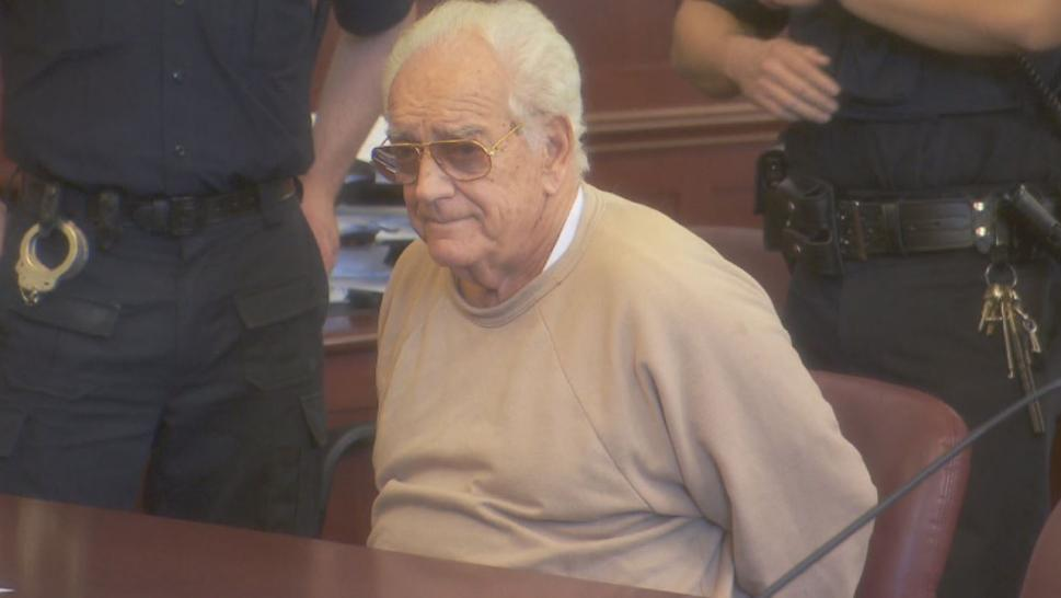 "Samuel Sabatino, 82, looks like an average senior citizen, but he is allegedly an elusive career criminal dubbed the ""Holiday Bandit."""
