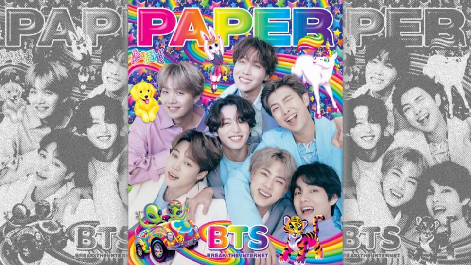 Why Lisa Frank Was Part of BTS' Paper Magazine Spread