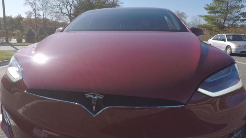 Inside Edition purchased the product and put it to the test. The device circumvented Tesla's safety feature allowing him to drive completely hands-free.