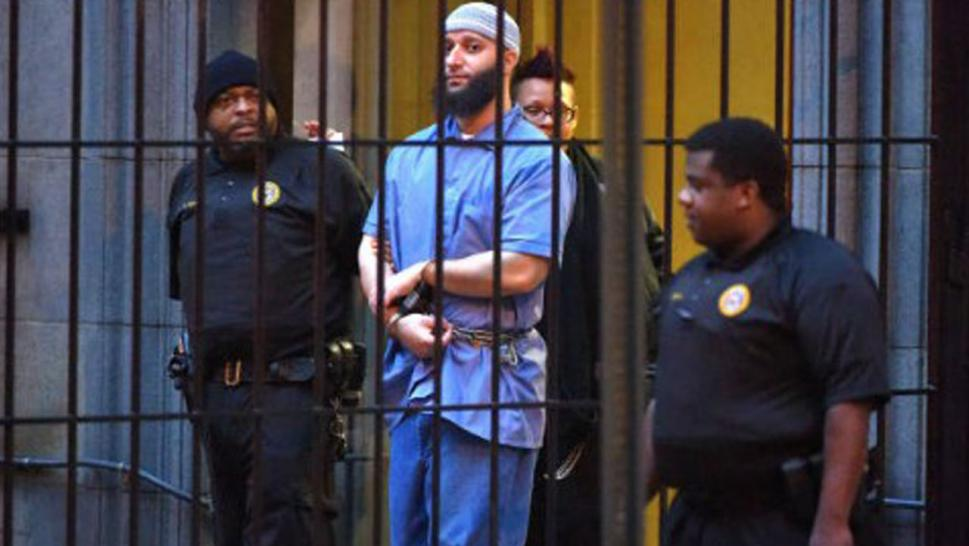 Adnan Syed during a 2016 court hearing.