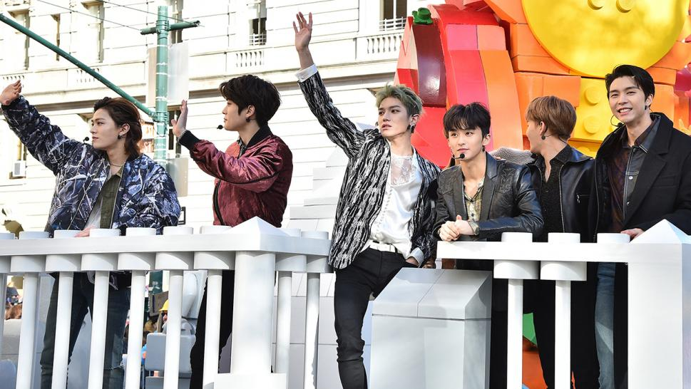 Seoul-based NCT 127 made history as the first K-pop group to perform at the Macy's Thanksgiving Day Parade.