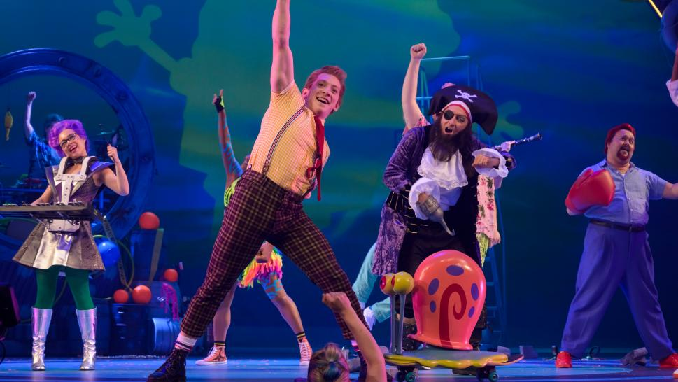 """SpongeBob SquarePants"" is now a live musical."