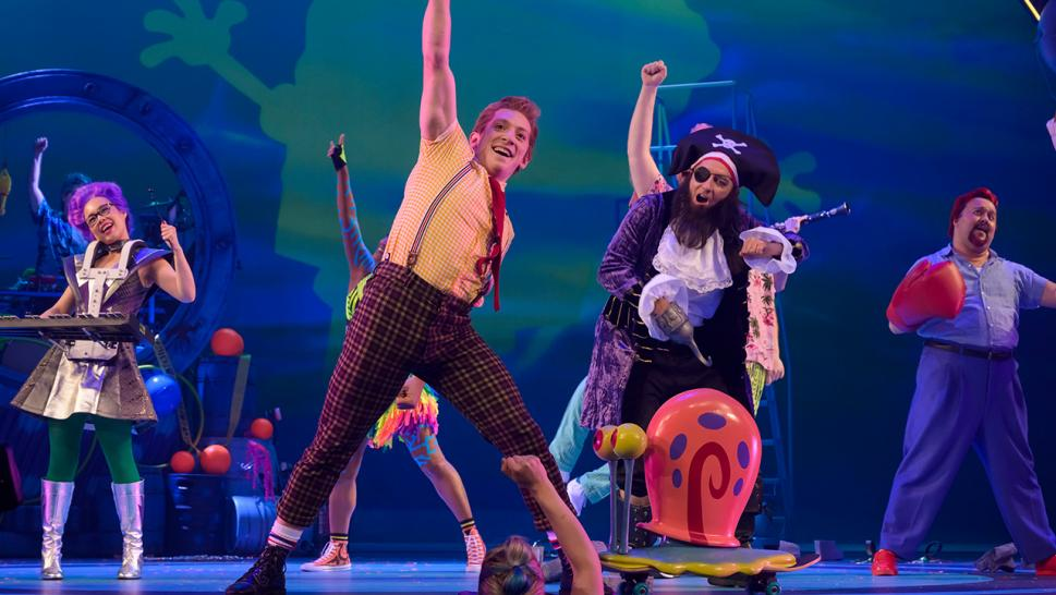 Tom Kenny in 'SpongeBob The Musical: Live on Stage!'