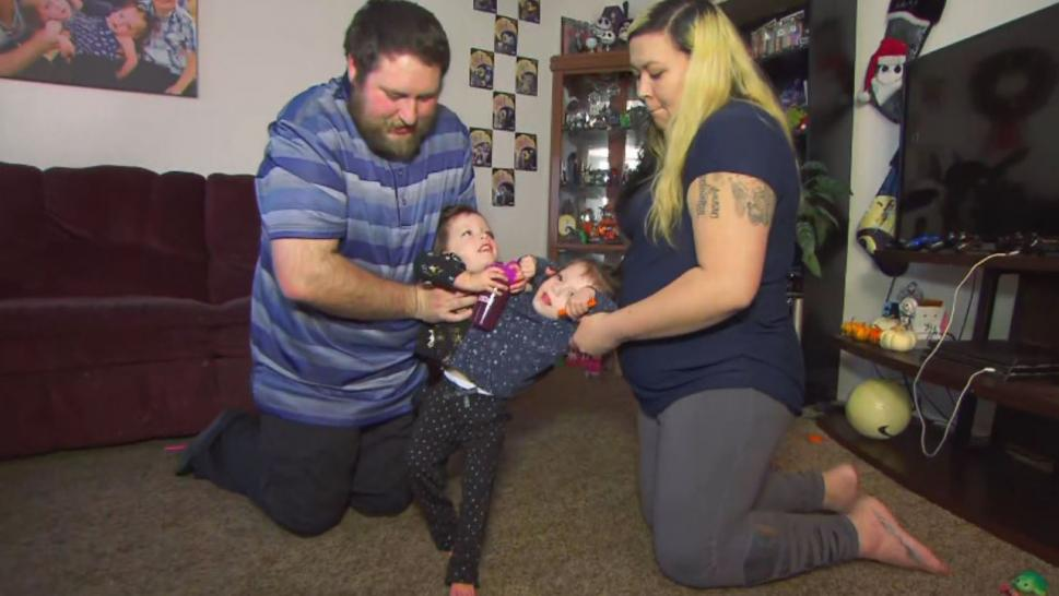 Nick and Chelsea Torres,of Blackfoot, learned their daughters would be conjoined while Chelsea was pregnant.