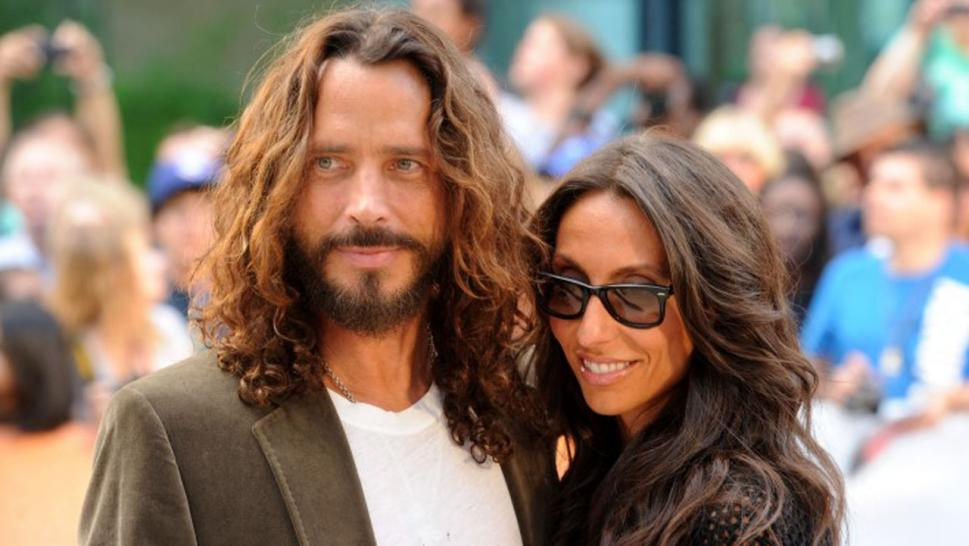 Chris Cornell's widow has sued Soundgarden over royalty payments.