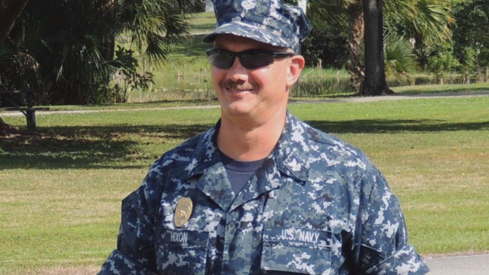 Chris Hixon, a U.S. Navy veteran, ran towards the gunfire and is credited with saving lives by herding students out of harm's way.