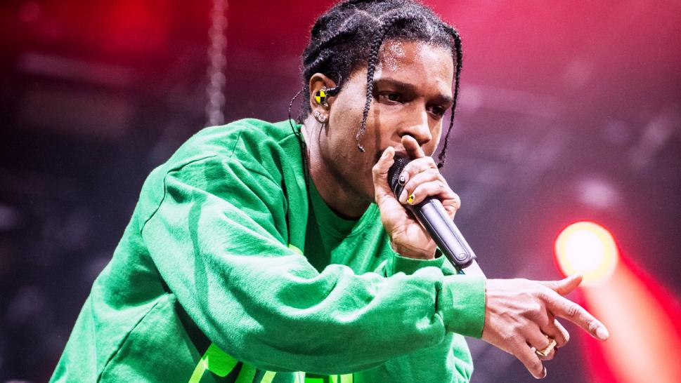A$AP Rocky returns to Stockholm, Sweden after his incarceration over the summer.