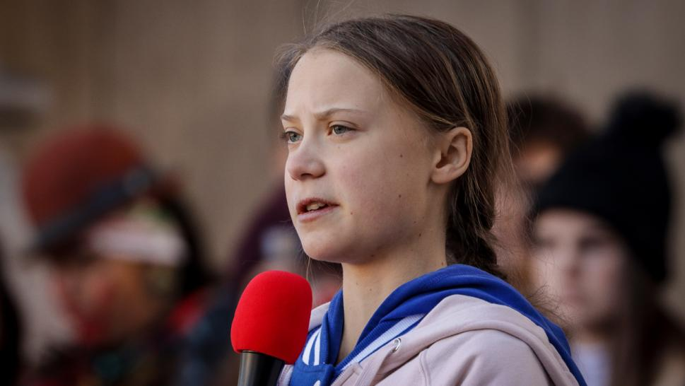 Teen climate activist Greta Thunberg has been named Time's Magazine's Person of the Year for 2019.