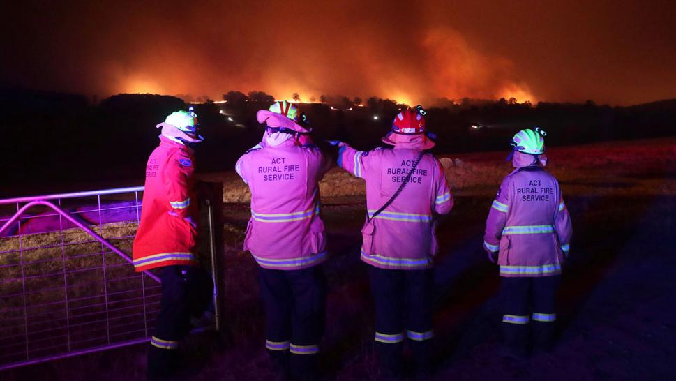 The bushfires in Australia show no signs of slowing down or being tamable and it's impossible to understate the devastation of the unprecedented climate crisis.