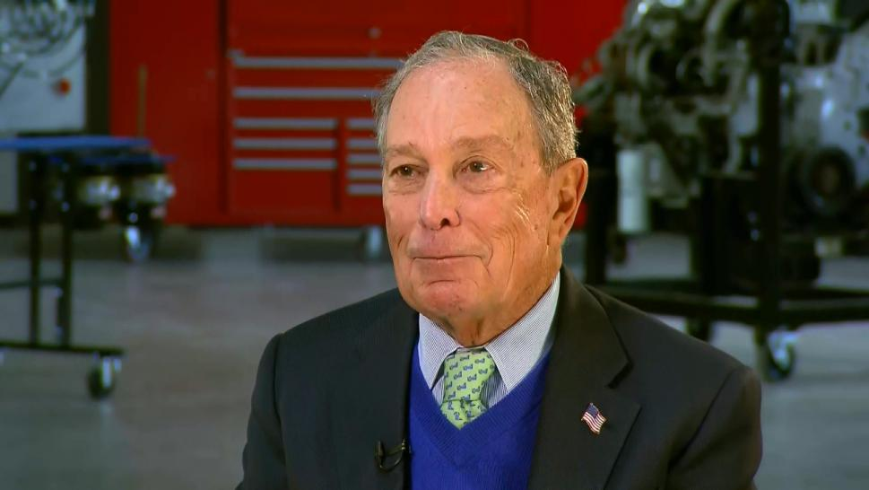Michael Bloomberg on Judge Judy's Endorsement