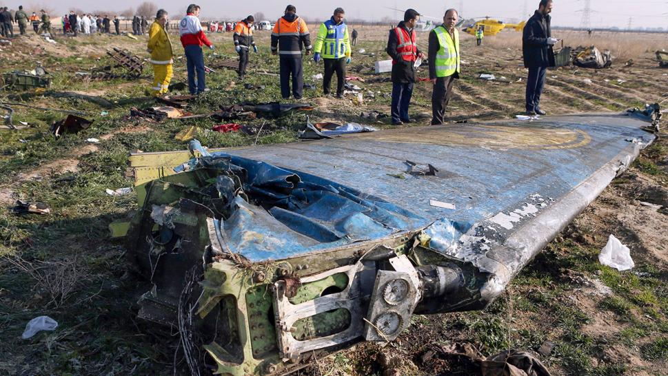 An area identified as the place in which the Ukrainian passenger jet crashed after being shot down allegedly by Iran appeared to have been cleaned up only days later, leading many to ask if the rogue nation was engaged in a cover up.