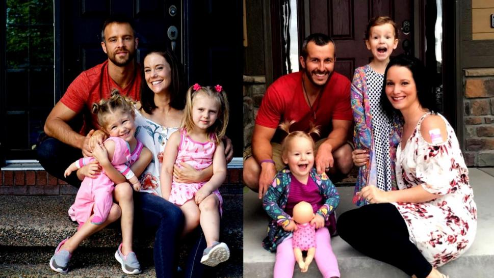 Chris Watts and his family
