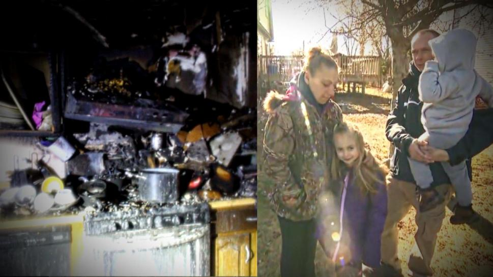 Girl who saved family from fire