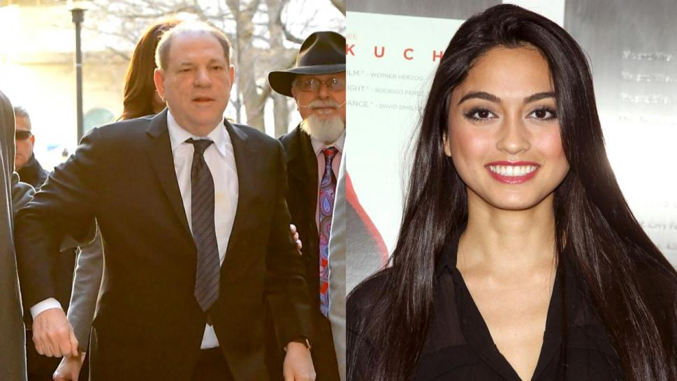 Harvey Weinstein and Ambra Guttierez