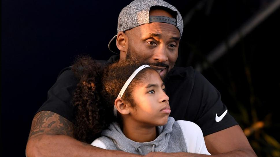 kobe Bryant and his daughter, Gianna.