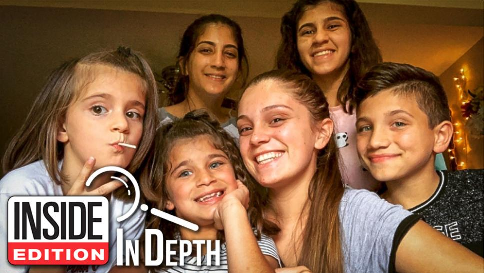 Samantha Rodriguez is raising her five siblings.