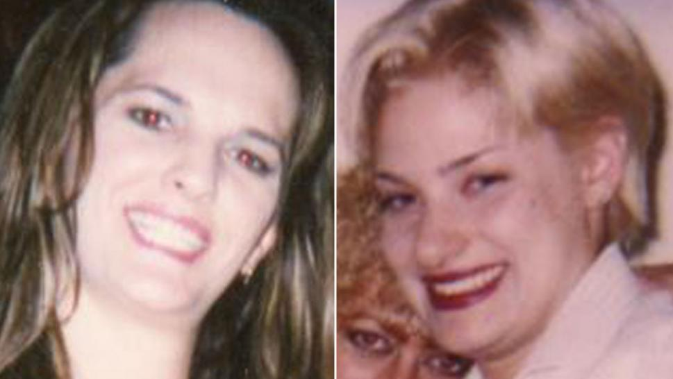 These are two of the women pictured in photos taken from the home of accused killer Horace Van Vaultz Jr., police said.