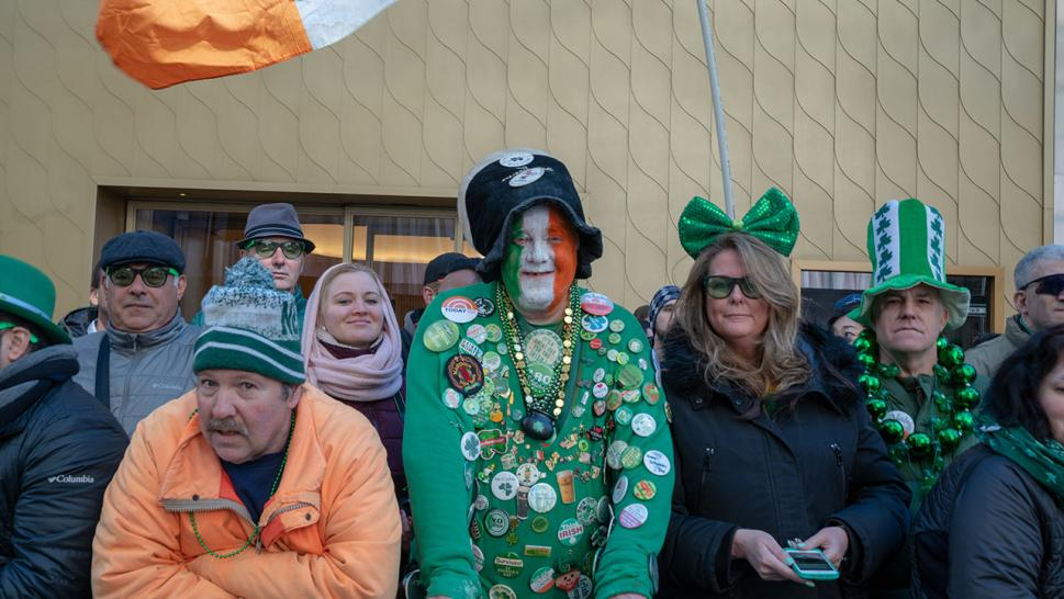 Thousands gathered for the 2019 annual St. Patrick's Day parade on March 16, 2019 in New York City. The New York City St. Patrick's Day parade, dating back to 1762, is the world's largest St. Patrick's Day celebration.
