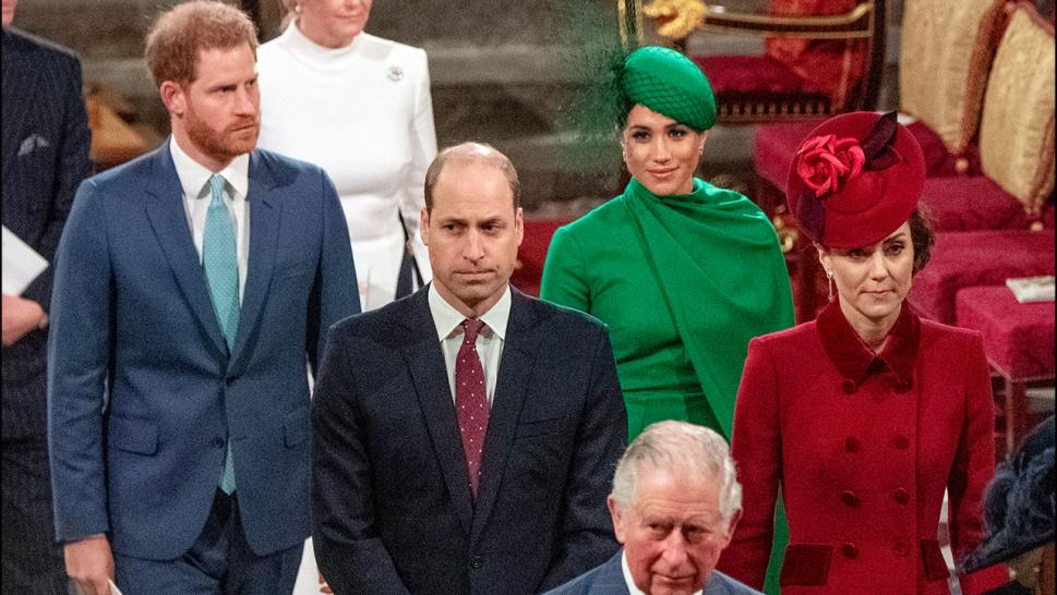 rince Harry, Duke of Sussex, Meghan, Duchess of Sussex, Prince William, Duke of Cambridge, Catherine, Duchess of Cambridge and Prince Charles, Prince of Wales