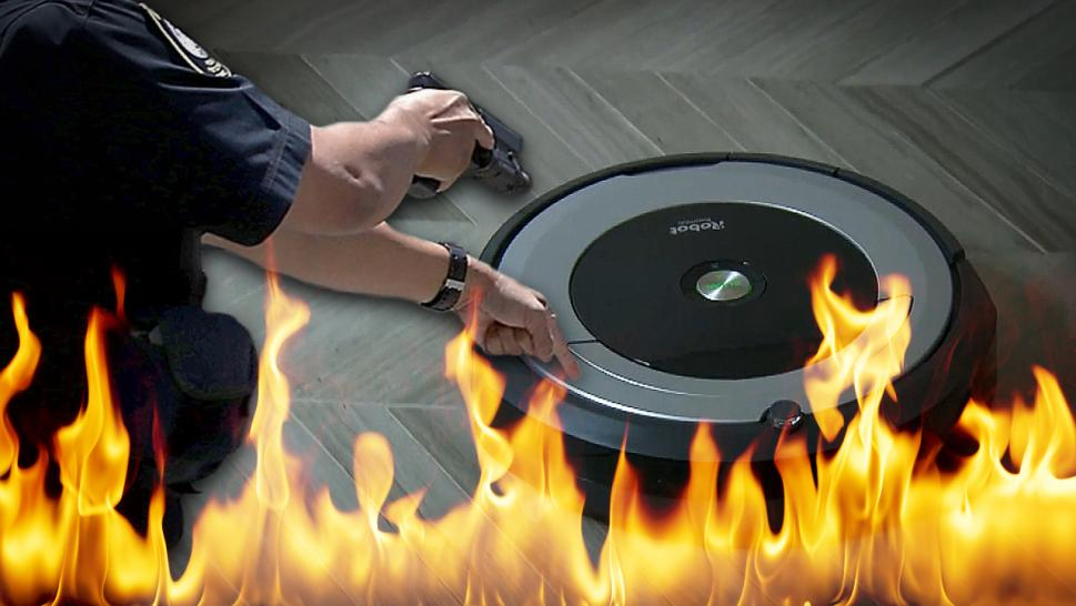 These Roombas Got Into a Lot of Trouble
