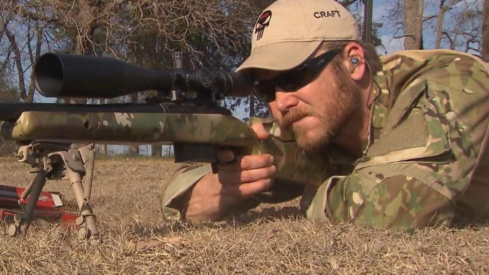 "Chris Kyle's life story was told in the 2014 film ""American Sniper"" staring Bradley Cooper."