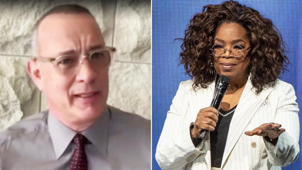 Tom Hanks and Oprah Winfrey are among the many celebrities that will deliver commencement speeches to new graduates.