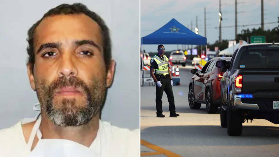 Alexander Michael Sardinas, 37, was charged with kidnapping a 17-year-old girl to bypass a coronavirus checkpoint into the Florida Keys.