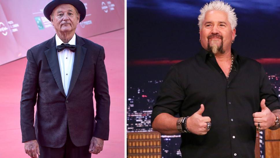 """The Nacho Average Showdown"" will see the ""Life Aquatic"" star and the host of ""Diners, Drive-ins, and Dives,"" go head to head to compete to make the best nachos."