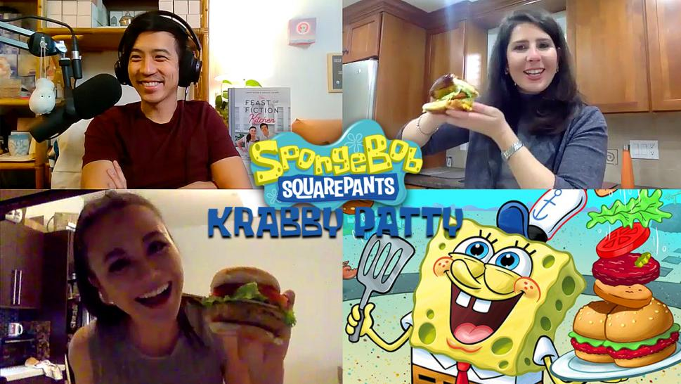 How to Make 'Spongebob' Krabby Patties With 'Feast of Fiction'