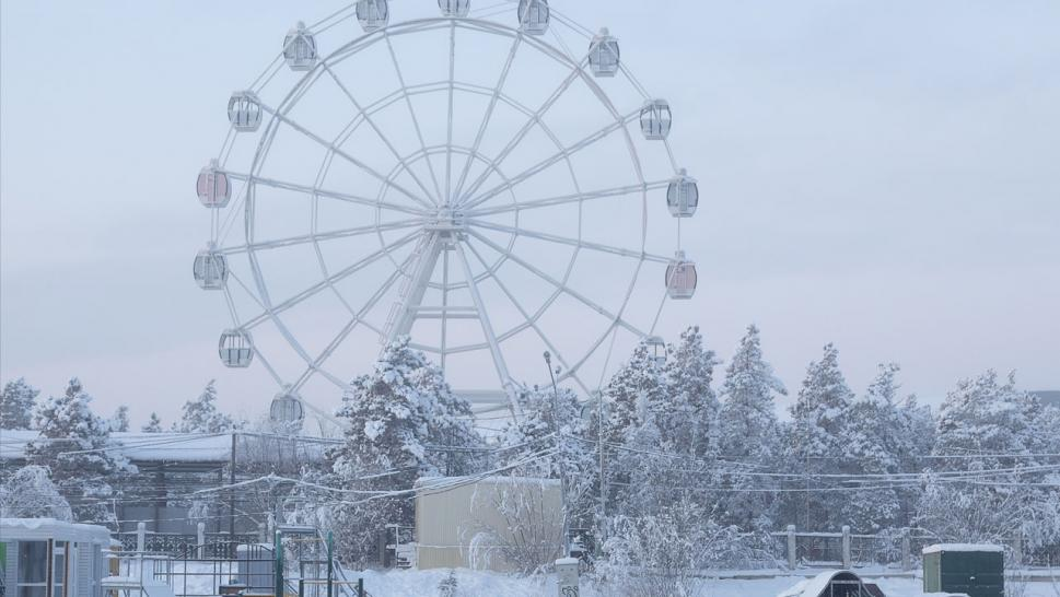Verkhoyansk, Russia, is in the Arctic Circle. It is one of the coldest towns on Earth.