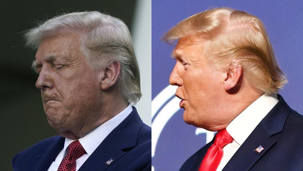Has President Trump's Hair Been Changing Colors?