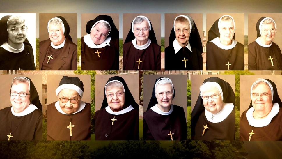 Nuns from Blessed Virgin Mary Convent