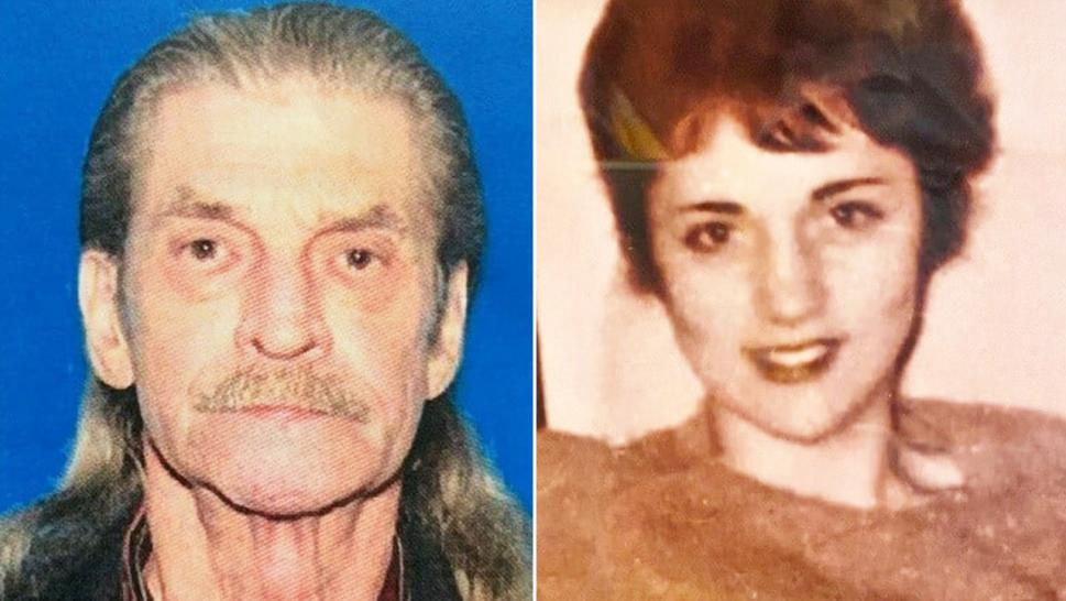 Johnny Chrisco, left, who died of cancer in 2015, was not originally named a suspect related to Anita Louise Piteau's (right) killing.